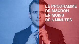 Video Le programme de Macron en moins de 6 minutes MP3, 3GP, MP4, WEBM, AVI, FLV Mei 2017