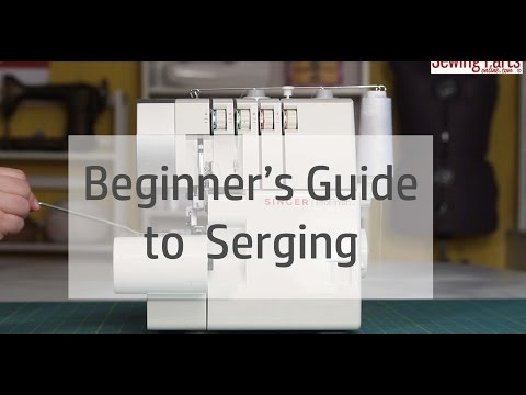 Beginner's Guide to Serging (Ep 1): Understanding Your Serger