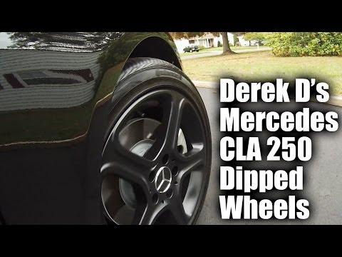 Derek D Dips His CLA wheels!