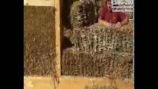Экодом из соломенных блоков. Технология кладки