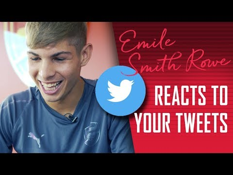 Emile Smith Rowe Signs New Contract & Reacts To Your Tweets