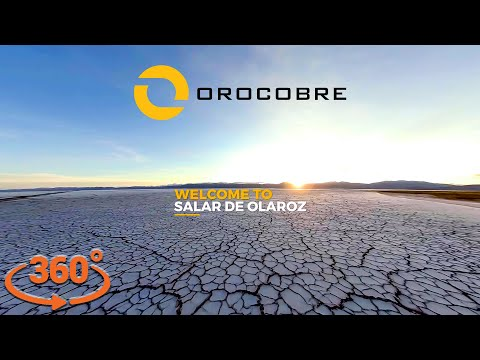 Orocobre Limited – 360º Video Tour Of Olaroz Lithium Facility [4K]