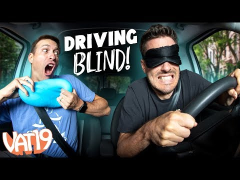 Don't Hit the Tesla! Parallel Parking BLINDFOLDED.