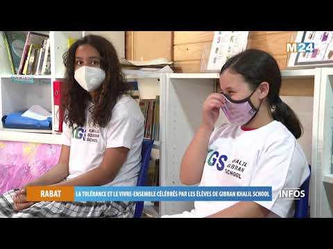 Rabat: La tolérance et le vivre-ensemble célébrés par les élèves de Gibran Khalil School