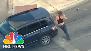 Video Watch Texas Mom With Baby In High Speed Chase With Police | NBC News MP3, 3GP, MP4, WEBM, AVI, FLV Juli 2019