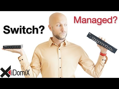 Soll ich Hub, Switch, Web Smart Switch oder Managed Switch kaufen? | iDomiX