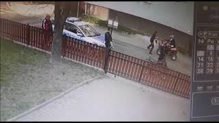 Potrącił policjantkę quadem i uciekł. Nagranie z kontroli drogowej – Lubań
