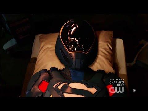 Supergirl 4x03 Ending Lena gives Supergirl Kryponite Proof Suit (Nanotech)