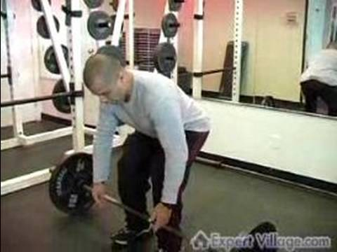 Personal training video on how to deadlift properly