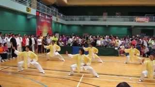 香港冷先鋒武術學院中國香港武術精英大賽2013 團體陳式拳獲全場冠軍