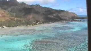 Moorea Island French Polynesia  City new picture : Helicopter flight around Moorea island in French Polynesia
