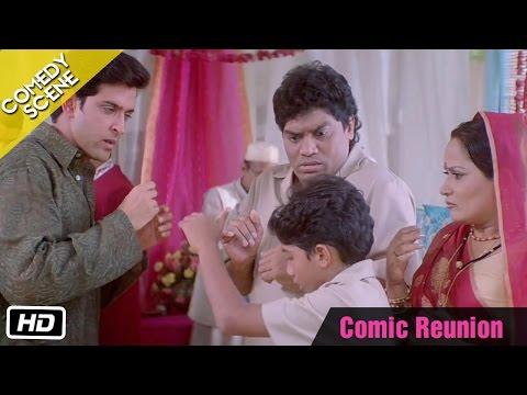 Comic Reunion - Comedy Scene - Kabhi Khushi Kabhie Gham - Hrithik Roshan