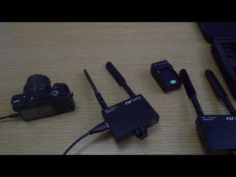 Wireless video transmitter. transmission distance 150meters.