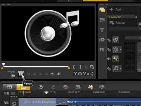 วิธีตัดต่อวิดีโอ corel video studio x4