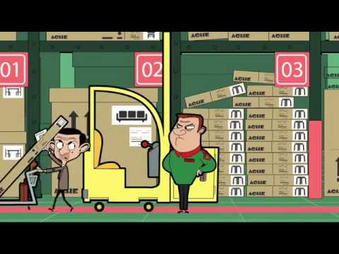 Mr Bean Animated Series S02E11 Flat Pack