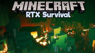 New Nether Biomes in Minecraft RTX! • Minecraft RTX Survival S2 [Part 2]