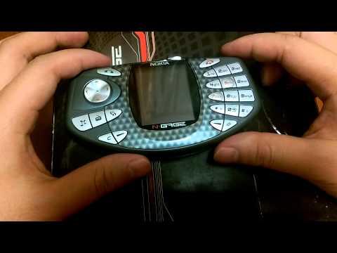 Nokia N-Gage обзор ретро консоли