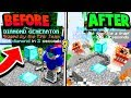 EXPLODING DIAMOND GENERATOR TRAP! (Minecraft Crystal Bed Wars)