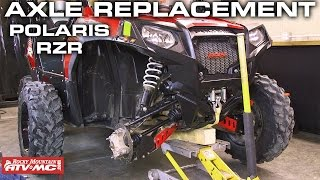 10. Polaris RZR Axle Change | Rocky Mountain ATV/MC
