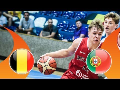 Video LIVE 🔴 - Belgium v Portugal - CL 9-16 - FIBA U16 European Championship Division B 2018 download in MP3, 3GP, MP4, WEBM, AVI, FLV January 2017