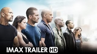 Fast&Furious 7 IMAX Trailer (2015) - Vin Diesel Movie HD