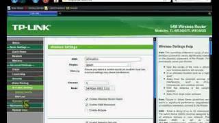 Montaje De Un Router Y Configuracion TP-LINK WR340G