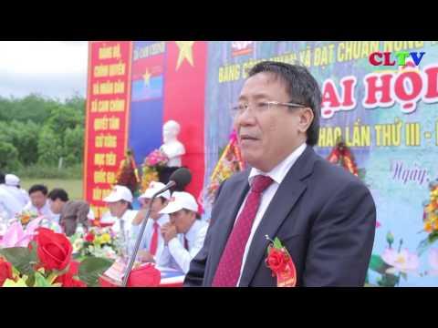Xã Cam Chính đón nhận xã đạt chuẩn NTM