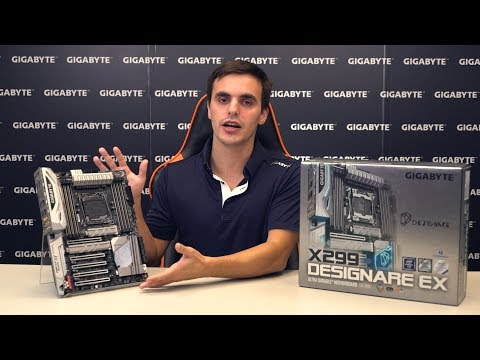 GIGABYTE X299 DESIGNARE EX Unboxing & Overview