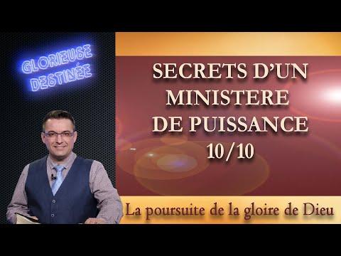 Franck ALEXANDRE - Glorieuse Destinée : Secrets d'un ministère de puissance - La poursuite de la gloire de Dieu