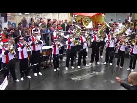 Nazaré Paulista 2015 - Banda Marcial Armando de Arruda Pereira