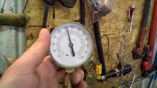 9. LOT 1856B Polaris FS Non Turbo IQ Engine Compression Test 750 Weber