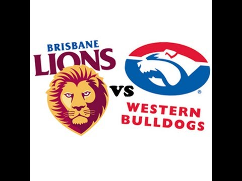 Brisbane Lions vs. Western Bulldogs &#8211; Round 23 &#8211; Final Quarter