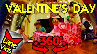🎁 VALENTINES DAY GIFTS FOR KIDS | Valentine's Day at Mimi's House 💗 360 Video