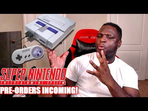 SNES Mini Pre-Orders Are Starting! How to Secure Yours & Why I'm Hyped!