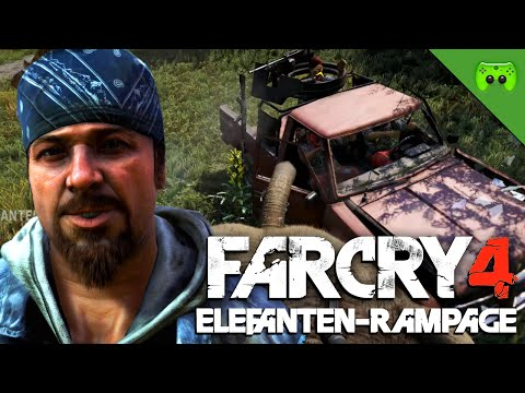 FAR CRY 4 # 33  - Elefanten-Rampage «» Let's Play Far Cry 4 | HD 60 FPS Gameplay