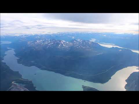 Takeoff and Landing - Vancouver to Whitehorse Yukon -  Air Canada