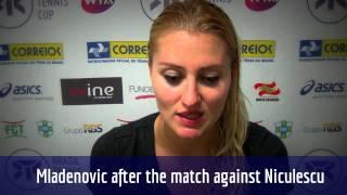 Kristina Mladenovic comenta sua participação no Brasil Tennis Cup