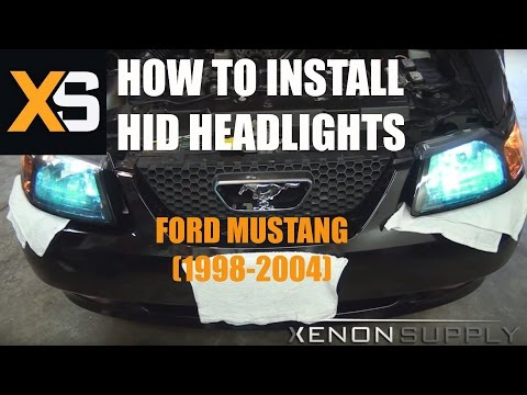 How to Install Bi-Xenon HID – Ford Mustang 1998-2004