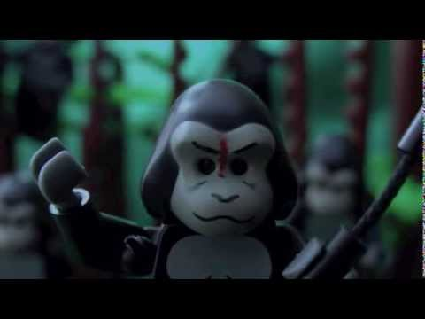 Lego Dawn of the Planet of the Apes Trailer