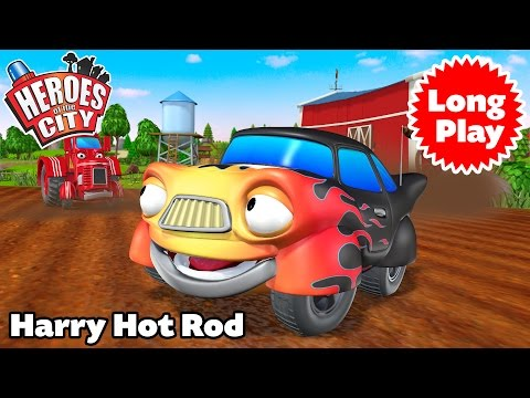 Heroes of the City - Harry Hot Rod - Preschool Animation - Bundle Long Play