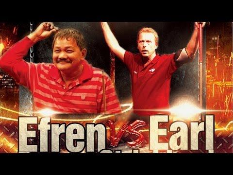 Efren Reyes VS  Earl Strickland The Battle of Legends at Steinway Billiards 9 Ball Part 2