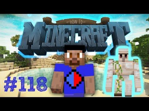 Minecraft SMP HOW TO MINECRAFT #118 'IRON GOLEM FARM!' with Vikkstar