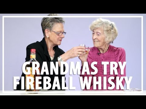Watch Grandmas Try Fireball Whisky For the First