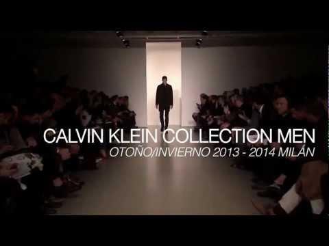 DESFILE CALVIN KLEIN MAN otoño-invierno 2013-14. FASHION TV ESPAÑA