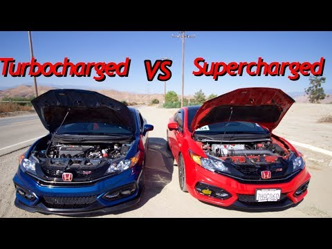 TURBOCHARGED 9th GEN VS SUPERCHARGED 9th GEN