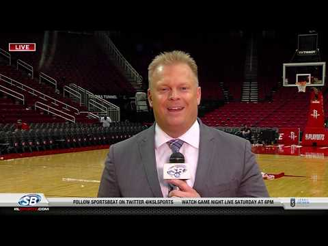 What adjustments do the Jazz need to make against the Rockets in game two?