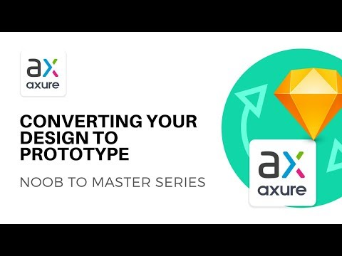 Convert Design to Prototype | Axure RP: Noob to Master Ep2