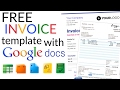 How To Create an Invoice Using Google Docs Invoice Template