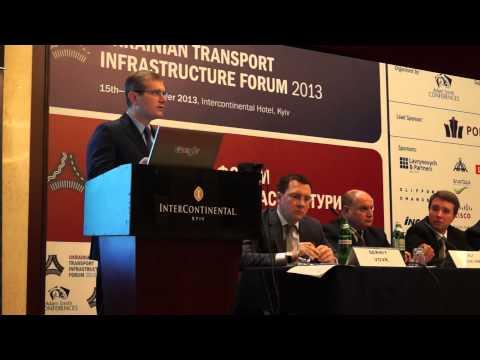 Выступление вице-премьера Александра Вилкула - Центр транспортных стратегий