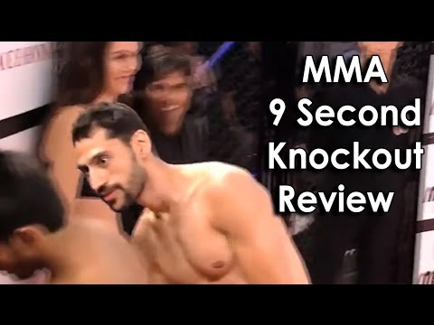 Ozzy Man Reviews MMA 9 Second Knockout